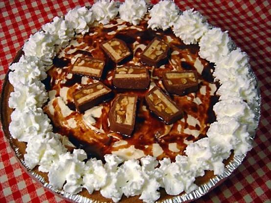 easy snickers pie | Pies | Pinterest