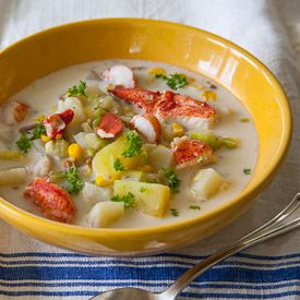 Lobster chowder | Favorite Recipes | Pinterest