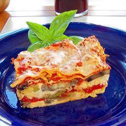 Roasted Butternut Squash and Garlic Lasagna | Recipe