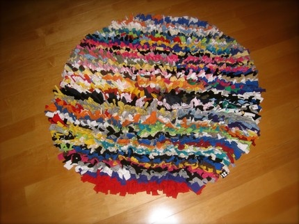 Recycled T Shirt Rug | Make the time.... | Pinterest