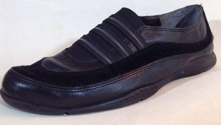 AEROSOLES Black LEATHER Flats SHOES - Women's Size 9.5 #Aerosoles