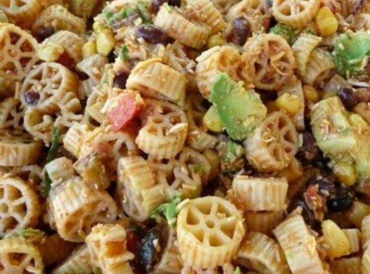 THE ULTIMATE PASTA POTLUCK SALAD | Salads | Pinterest