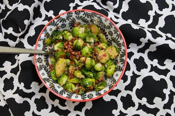 Braised Brussels sprouts with pancetta | Apps, Bites & Bits | Pintere ...