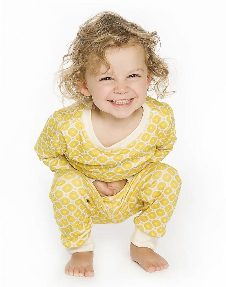 Love these organic cotton kids' pajamas from Canada's om home.