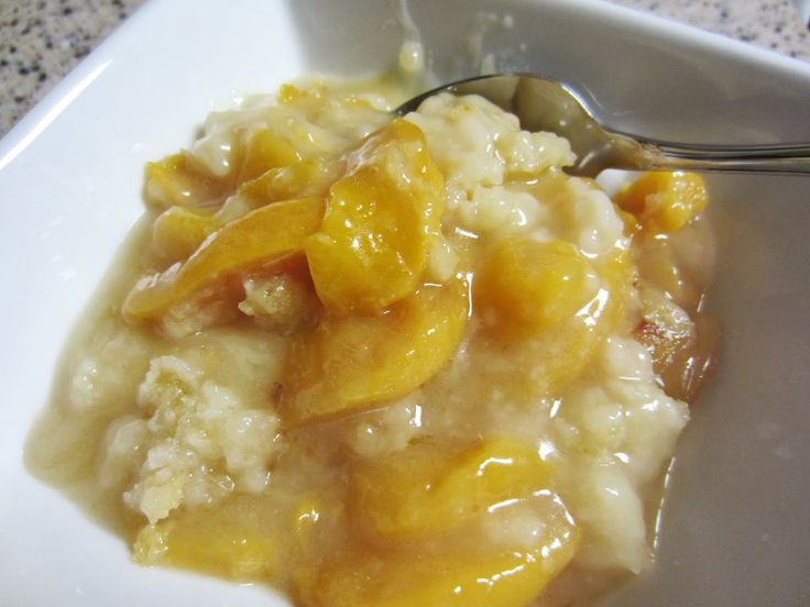 Good old fashioned peach cobbler like my mother made.