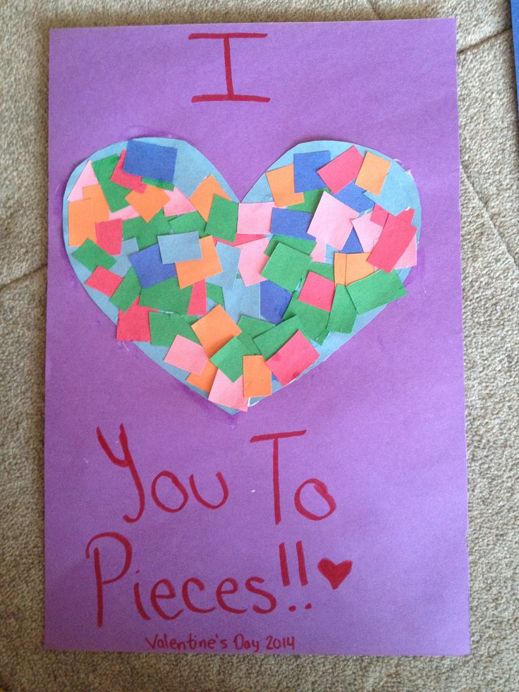 valentine's day card arts and crafts