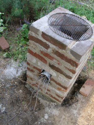 Living the Frugal Life: We Built a Rocket Stove