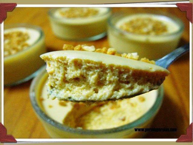 Mousse de dulce de leche | My Kitchen - Por mis Perolas | Pinterest