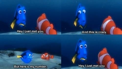 Oh Dory...