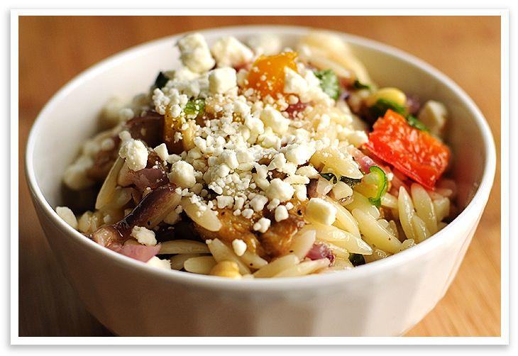 Roasted Vegetable Orzo Recipe — Dishmaps