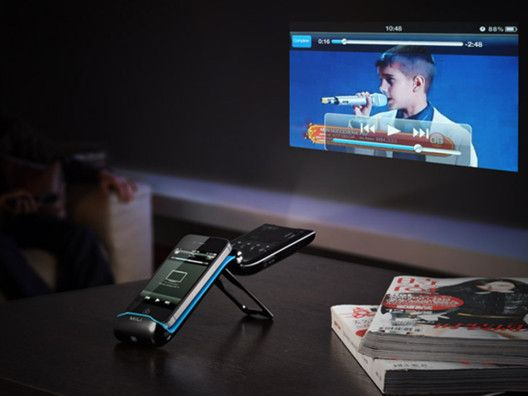 Pico Projector for iPhone/iPod by MiLi Power