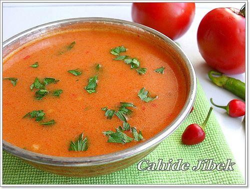 Domates Çorbası Tarifi | Çorbalar-soup | Pinterest