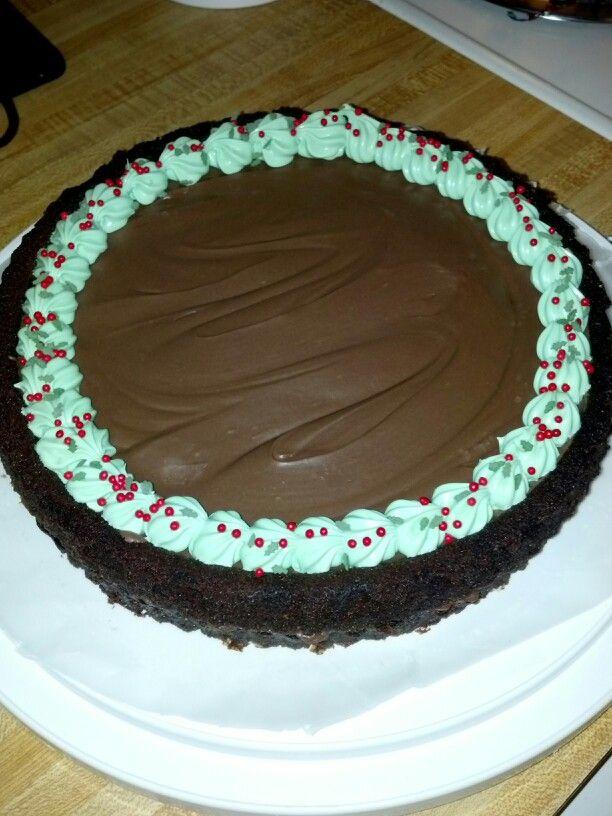 Chocolate peanut butter torte | Fun cake ideas | Pinterest