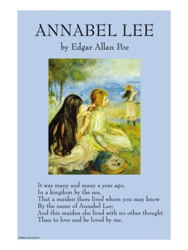 an analysis of annabel lee by edgar allan poe Complete summary of edgar allan poe's annabel lee enotes plot summaries cover all the significant action of annabel lee.