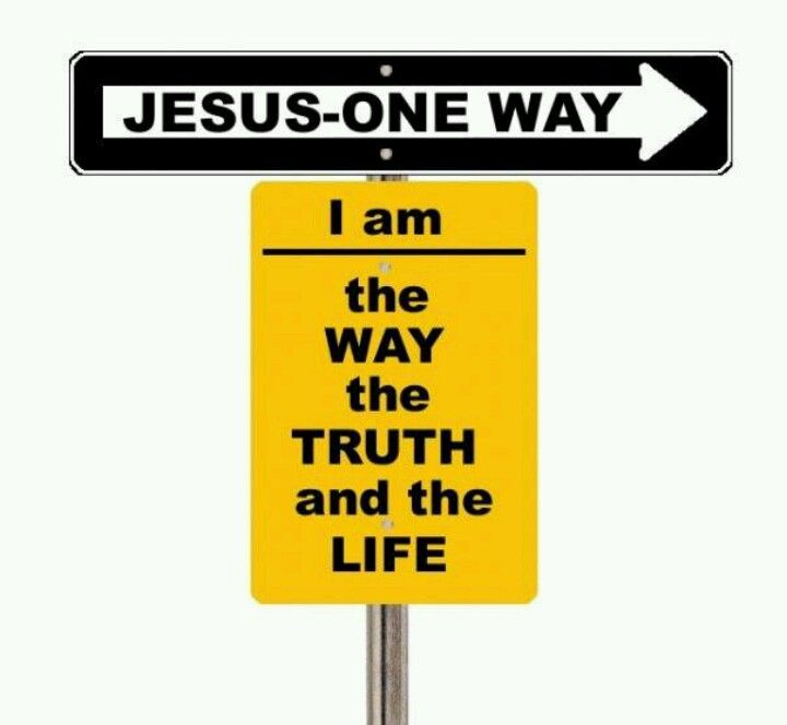 jesus one way - photo #3