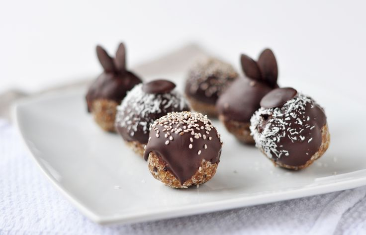 Chocolate covered coconut balls | dates | Pinterest