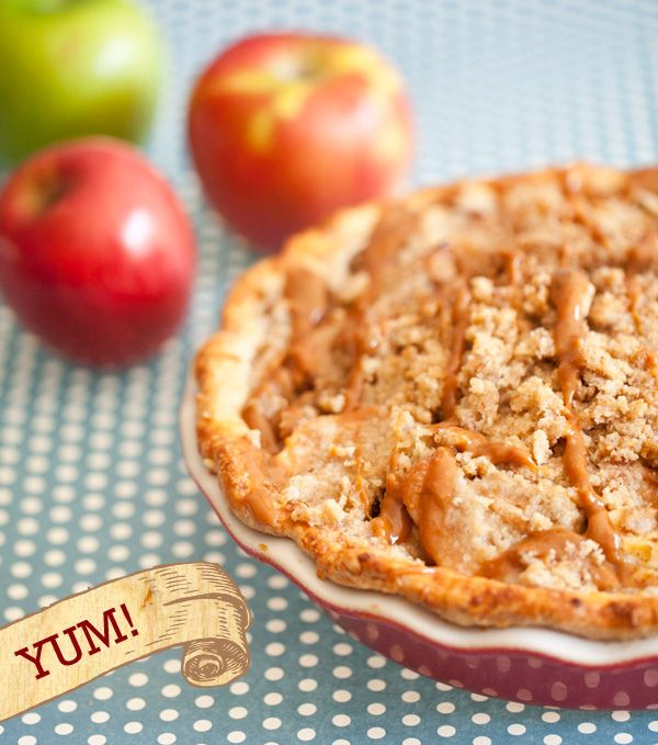 Recipe} Cheddar Crusted Apple Pie with Caramel Jalapeno Topping ...