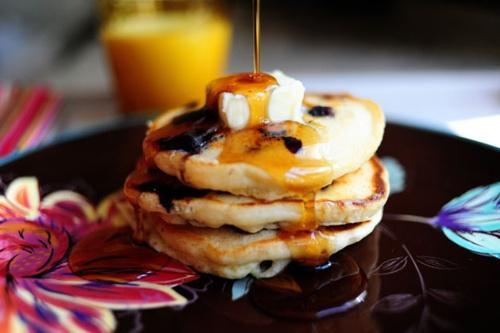 Lemon Blueberry Pancakes | Recipe