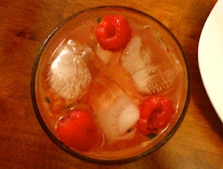 Raspberry Habanero Gin Fizz | lake shore lady recipes | Pinterest