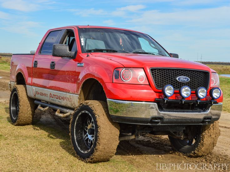 red lifted ford f 150 truck not a raptor - Red Ford F150 Lifted