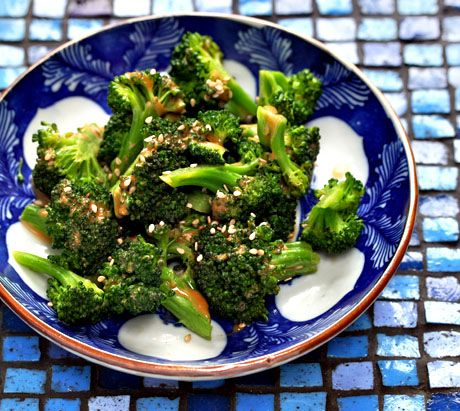 Salad With Broccoli, Dried Cherry, White Beans, Sunflower Seeds ...