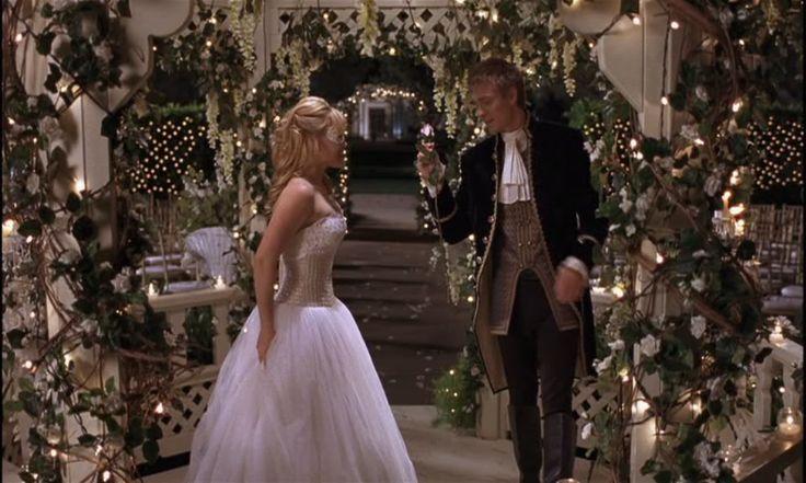 Cinderella Wedding Dress Scene : Hilary duff a cinderella story celeb weddings
