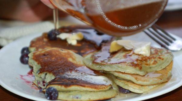 Easy, Homemade Blueberry Pancakes | Recipes | Pinterest