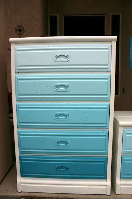 Doubletake Decor: Ombre Dresser