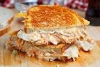 Gyro Grilled Cheese Sandwich (aka Gyro Melt) | Recipe