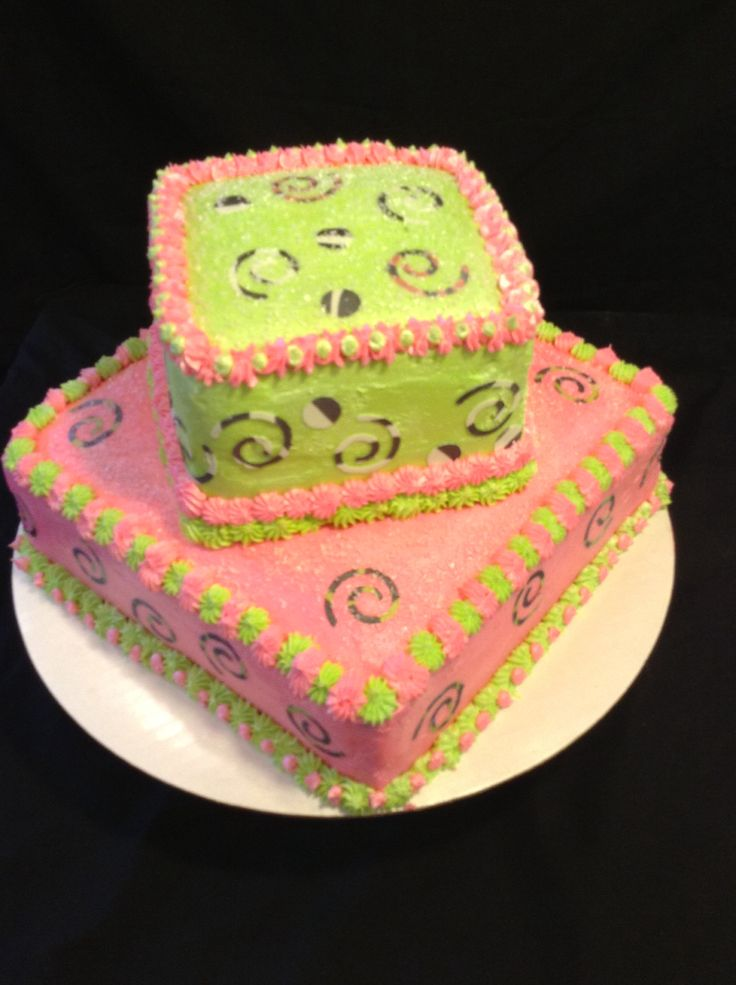 Birthday Cake Ideas For 13 Yr Old Girl : Birthday cake for a 13 year old girl. GinnyCakes Pinterest