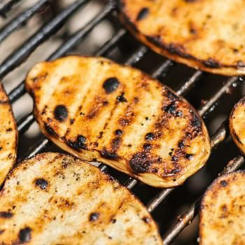 Grilled Salt and Vinegar Potatoes | RECIPES TO TRY | Pinterest