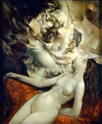 Sleeping Nude Dorothea Tanning