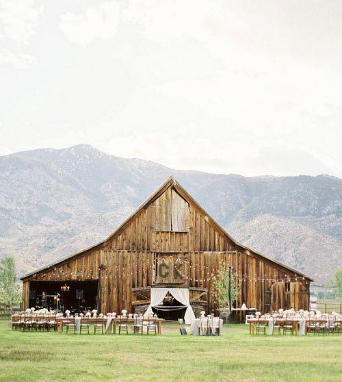A Rustic Barn Wedding On Lake Tahoe
