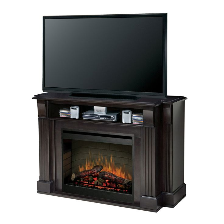 gothic cabinet craft lancaster electric fireplace and media console