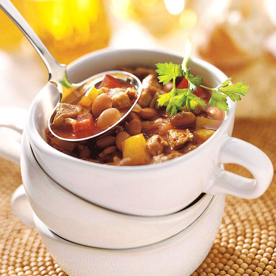 Hot & Fiery: Chunky Chipotle Pork Chili | Beef Dishes | Pinterest