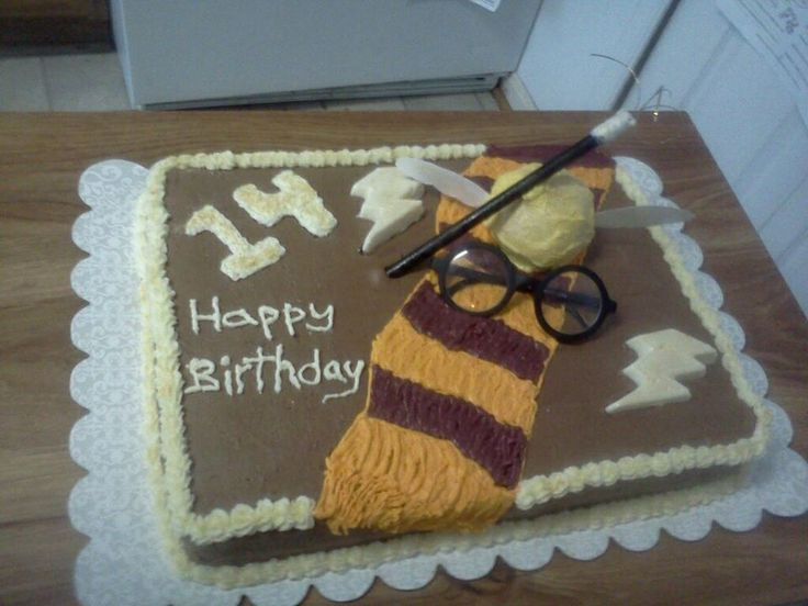 Harry Potter cake Cakes That I Have Made Pinterest