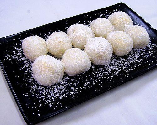 sweet rice balls | * SWEET RICE * | Pinterest