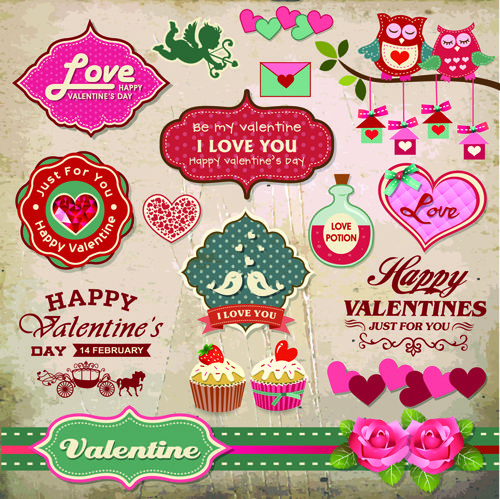 valentine's day #2 - 25 eps vector stock