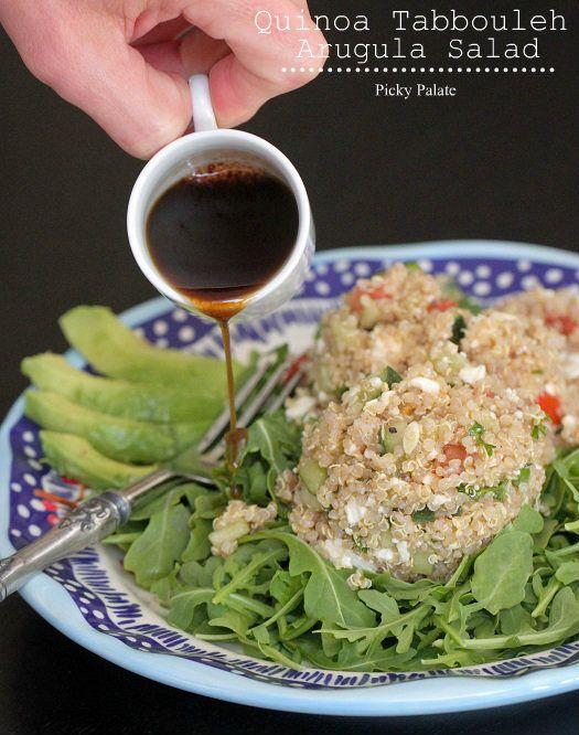 Quinoa Tabbouleh Arugula Salad | Recipe