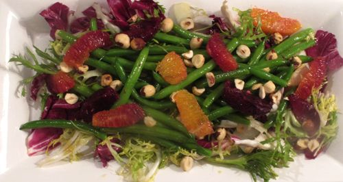 Blood Orange and Green Bean Salad with Hazelnuts and Sherry ...