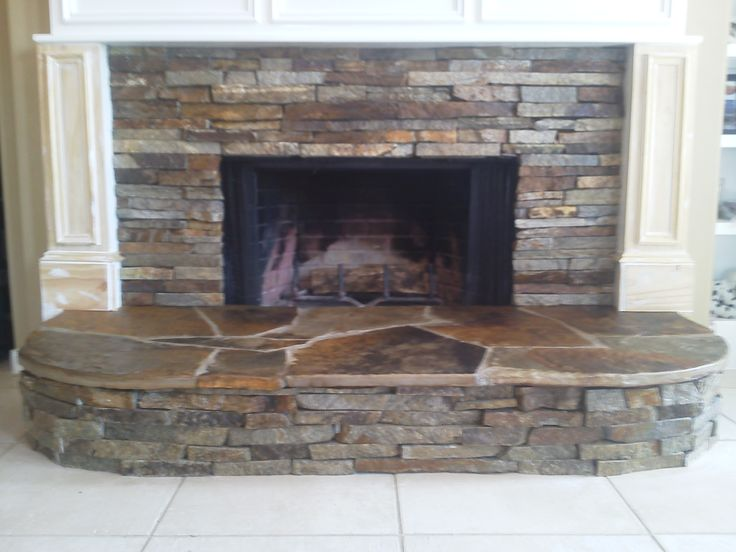 stone indoor fireplace custom stone masonry pinterest