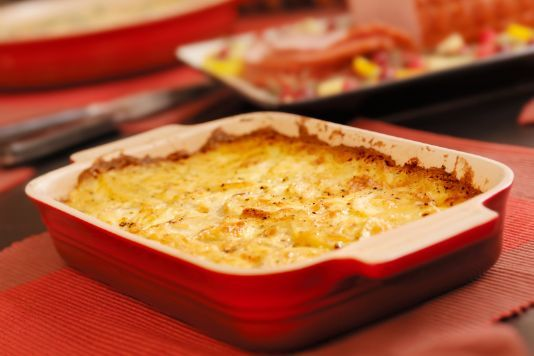 Bacon, Cheese and Onion Gratin for under £3