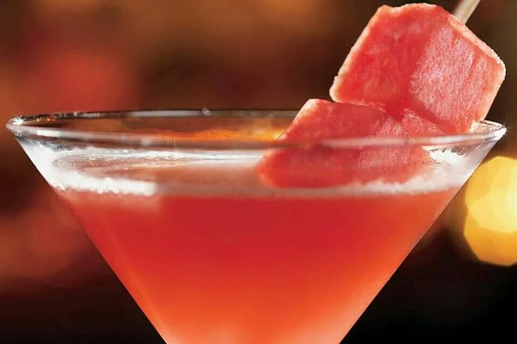 Watermelon martini time | Food & Drink that I love | Pinterest