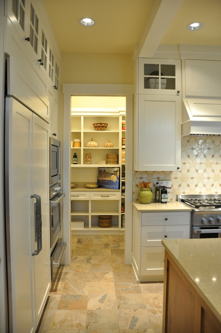 Pantry Behind Kitchen Wall New Home Design Concepts Pinterest