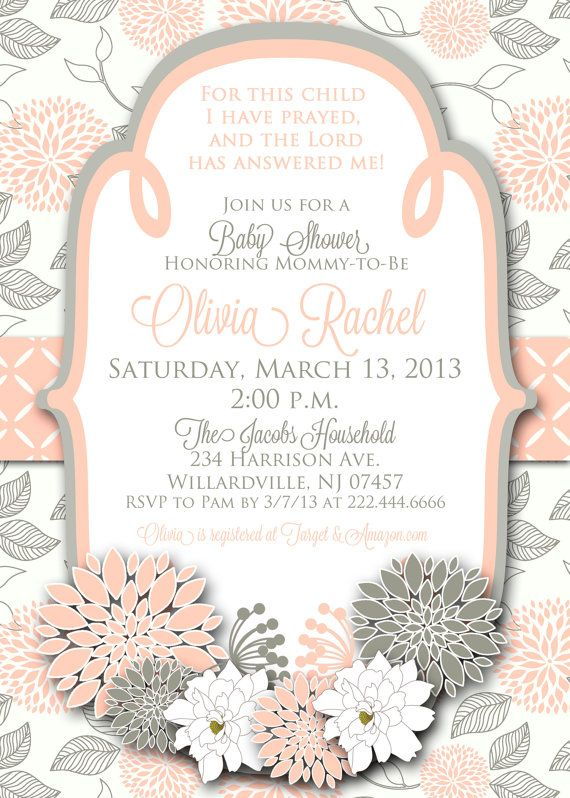 Wedding Shower Invitations Etsy with awesome invitations layout