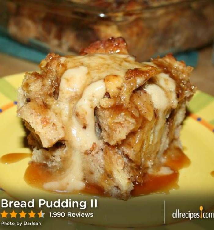 Bread Pudding-Changed it up a bit by using 2/3 cup of light brown ...