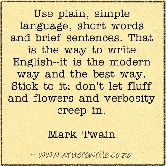 mark twain essays on writing The adventures of huckleberry finn study guide contains a biography of mark twain, literature essays, a complete e-text, quiz questions,  writing help log in.