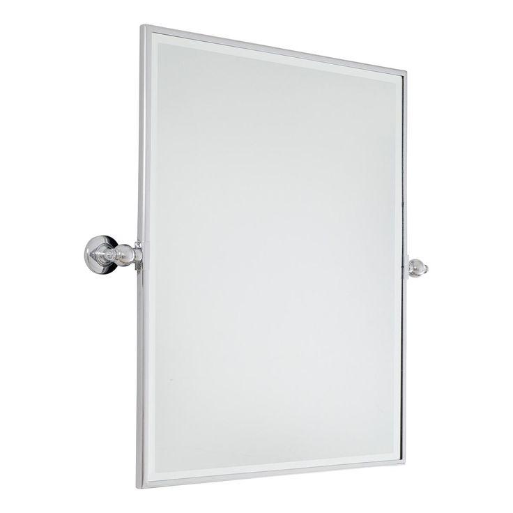 New 31quot Helsinki Oval Tilting Mirror  Bathroom Mirrors  Bathroom