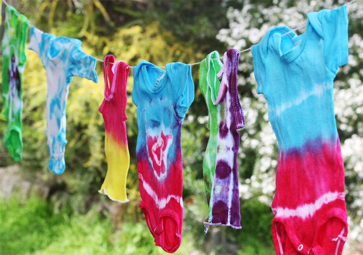 how to tie dye a shirt with soda ash