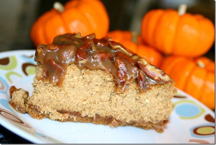 Praline Pumpkin Cheesecake | Cheesecakes- desserts of the Gods | Pint ...